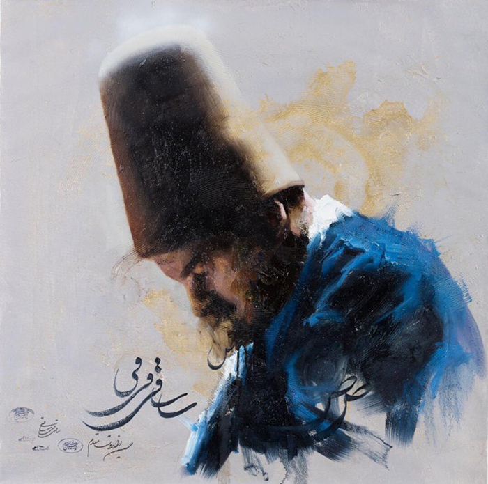 "Current Exhibition :Current Exhibition : Art Exhibition by Hossein Irandoust "" In Your Memory """